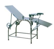 HZ-3B不锈钢妇科三折床