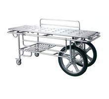 HZ-T1型不锈钢担架车(两大轮、两小轮)